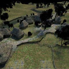 Модель деревни