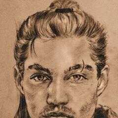 Молодой Весемир, арт от Dan-the-Bard