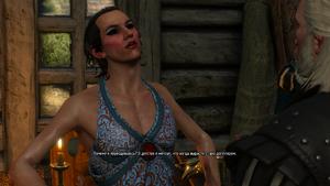 В3 Элихаль в платье