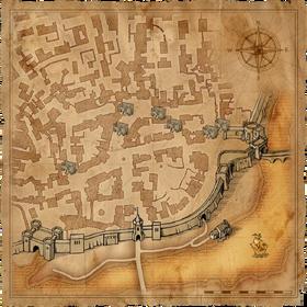 Карта купеческого кварталаВ1