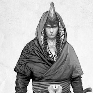 Эльфийский воин из компендиума