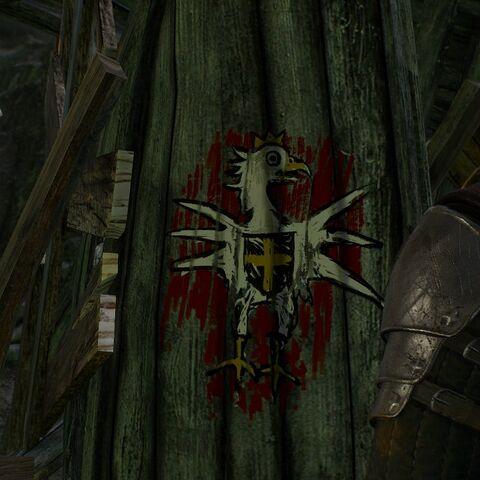 Реданский герб в исполнении Геральта