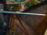 Отличный серебряный меч Школы Грифона