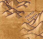 Перевал теодуль на карте