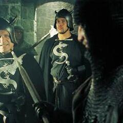 Нильфгаардские солдаты в сериале