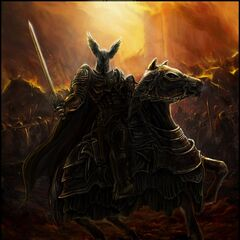 Кагыр (Черный Рыцарь) при штурме Цинтры