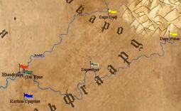 Города нильфгаарда на карте