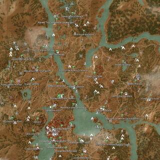 Подробная карта Туссента