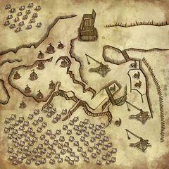 Карта лагеря
