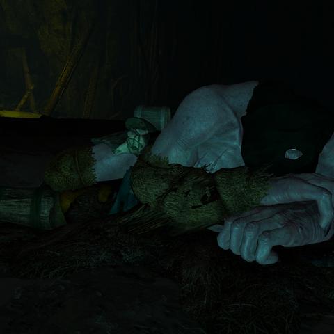 Спящее чудовище