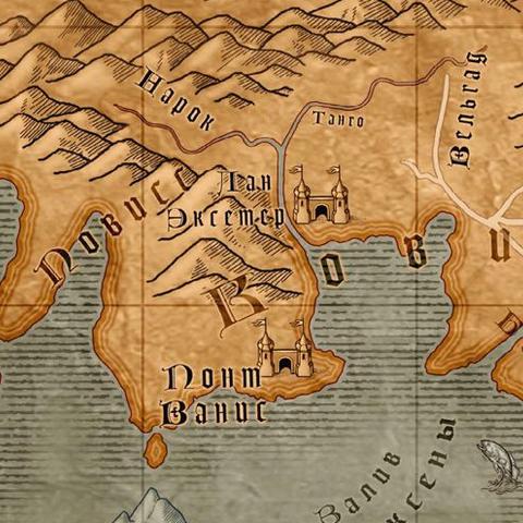 Карта Вельгарда