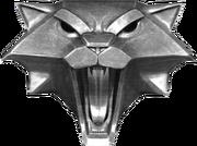 Медальон школы кота1