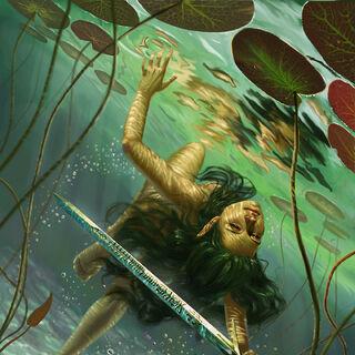 Владычица Озера, рисунок <a rel=