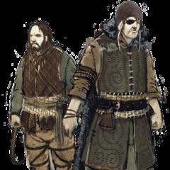Концепт-арт воинов клана Димунов