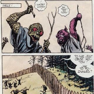 Враны и боболаки в резервации, комикс «<a class=