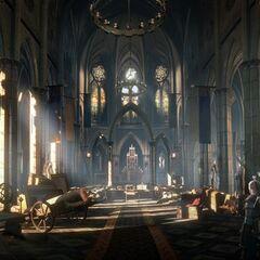 Замок Фольтеста в игре Ведьмак 3