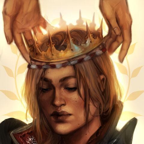 Коронация Саскии. Фан-арт