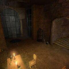 Тюрьма Вызимы в первых версиях