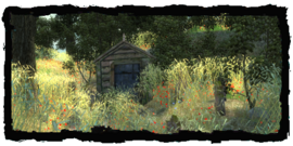 Склеп в полях