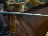 Мастерский серебряный меч Школы Грифона