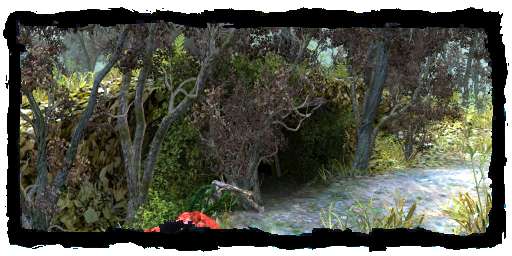 Скачать обои Пещера в лесу на рабочий стол из раздела картинок Лес | 256x512