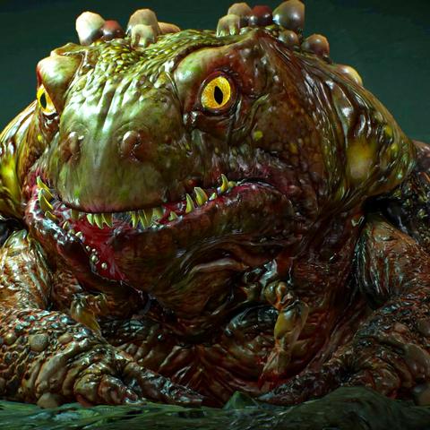 Жаба, в которую был превращен Сирват