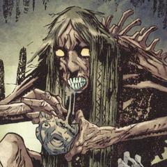 Кладбищенская баба в комиксе «<a href=