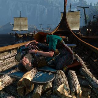 Мертвый Бран вместе с женой уходит в последний путь