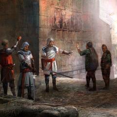 Зигфрид договаривается со стражей