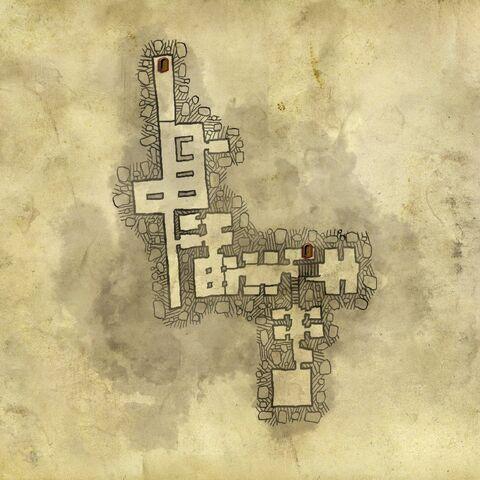 Верхний уровень подземелий