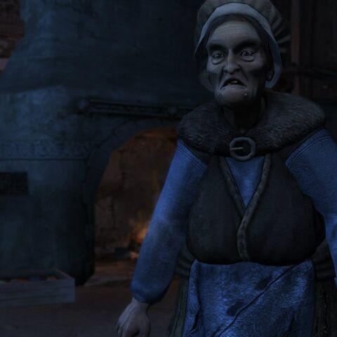 Бабушка в Золотом Издании Ведьмака