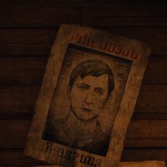 Плакат о розыске Квинто