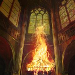Священное Пламя, <i><a href=