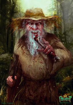 Старичок-лесовичок гвинт