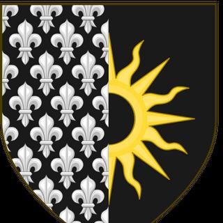 Герб Темерии, ставшей Провинцией Нильфгаарда