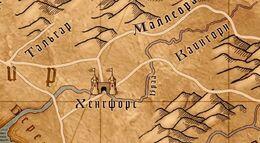 Браа на карте