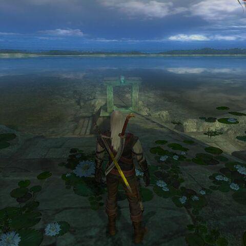 Ворота подводного города водяных на Отмели