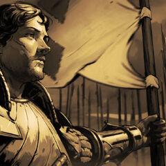 Виллем на страже Лирии и Ривии