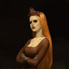 Принцесса Адда, фан-арт