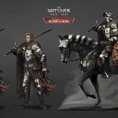 Туссентские рыцари, концепт-арт