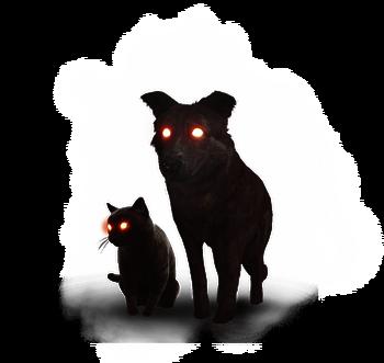Игры на двоих белый кот и черный кот