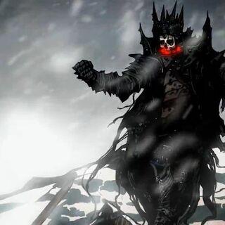 Геральт и Король в Ледяной Пустоши