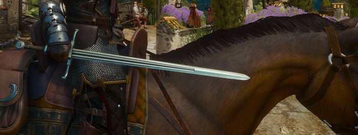 Отличный стальной меч Медведя В3