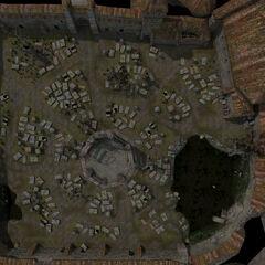 Модель кладбища Вызимы