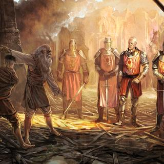 Зигфрид стал магистром Ордена