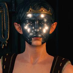 Эвелина в маске Радовида