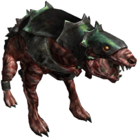 Bestiary Armored hound full