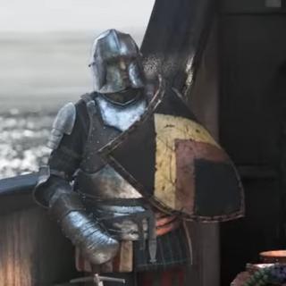 Аэдирнский солдат на корабле <a href=