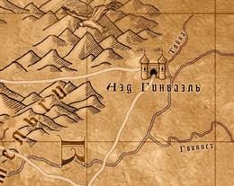 Карта аэдд гинваэля