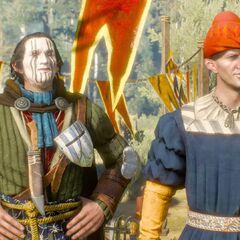 Вальдо и Аэгар встречают Цири